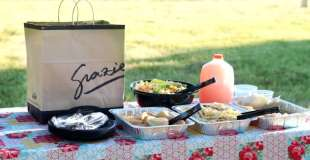 Backyard Dinner Party With Romano's Macaroni Grill {Giveaway!}