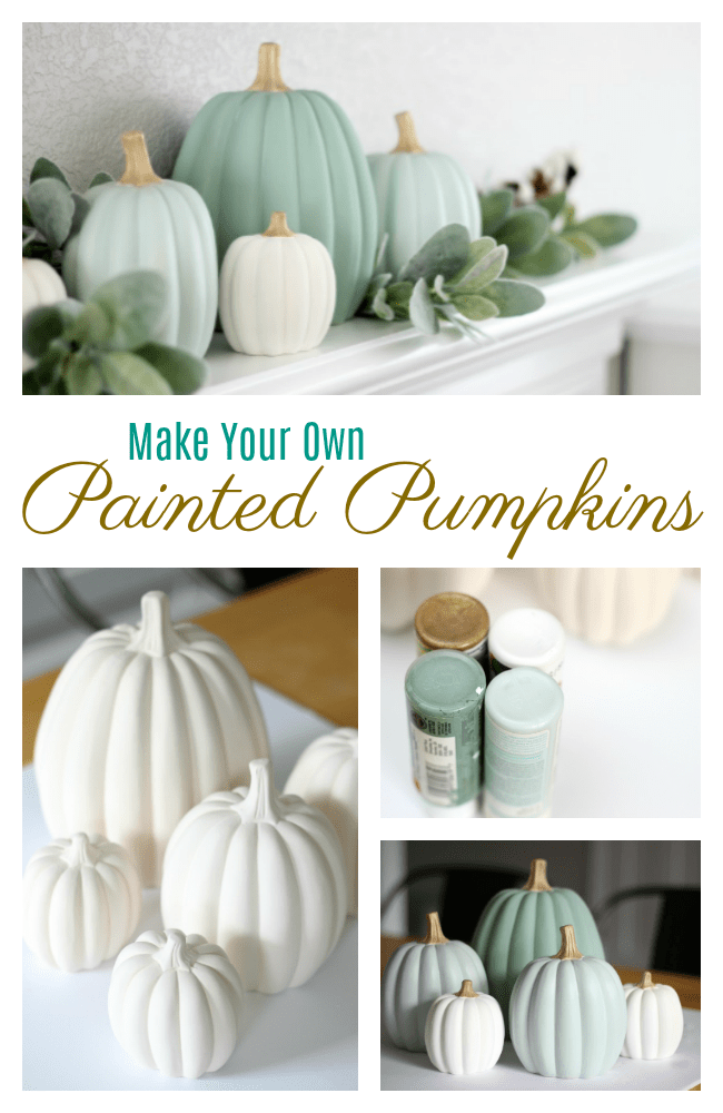 Make your own Painted Pumpkins by Gluesticks Blog