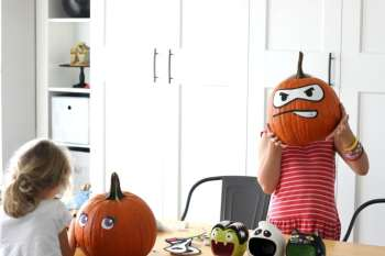Peel & Stick Pumpkin Accessory Kits