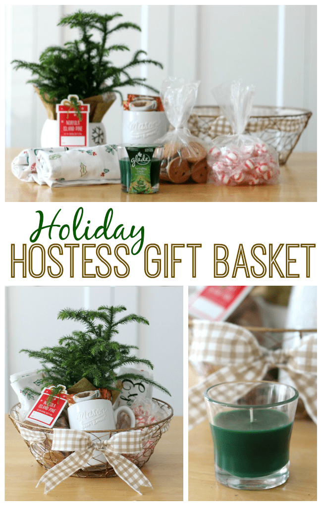 Holiday gift basket ideas that would make a great hostess gift for Holiday party gift ideas for the hostess