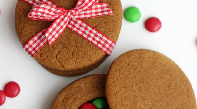 Gingerbread Cookie Boxes
