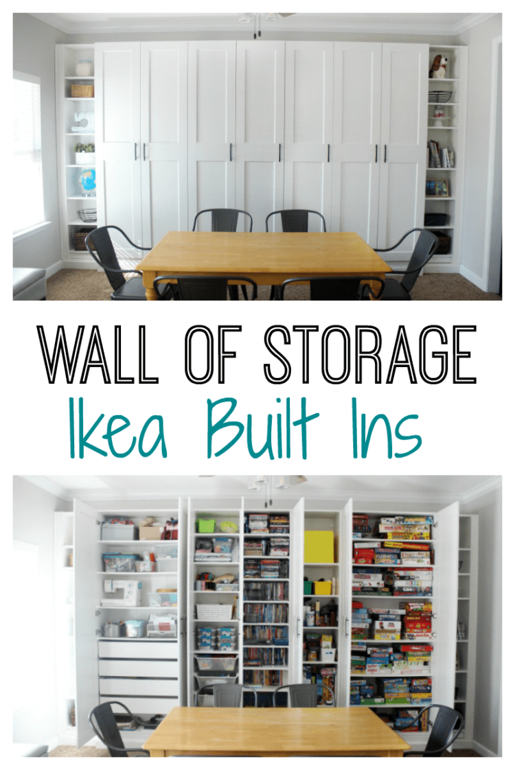 Ikea Built Ins For Storage Create A Wall Of Built Ins To Maximize Space