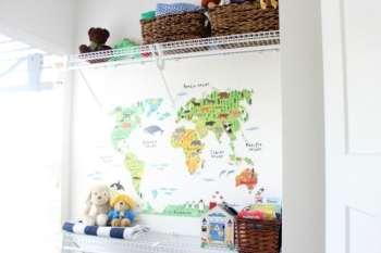 Tiny And Tidy Closet Nursery for Baby