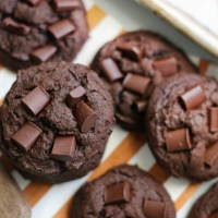 Fudgy Chocolate Pumpkin Cookies: Chewy and Delicious!