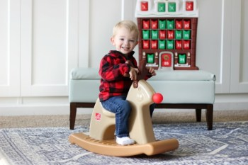Step2 Rudolph the Rocking Reindeer Holiday Giveaway