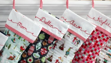 e22ab5431 Cuffed Christmas Stocking Pattern  Free Pdf - Gluesticks