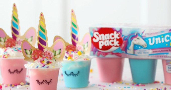 Magical Unicorn Pudding Cups: A Fun Treat For Kids To Make!