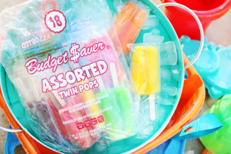 budget saver twin pops in bag