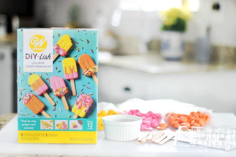 wilton popsicle kit for lemonade cupcake toppers