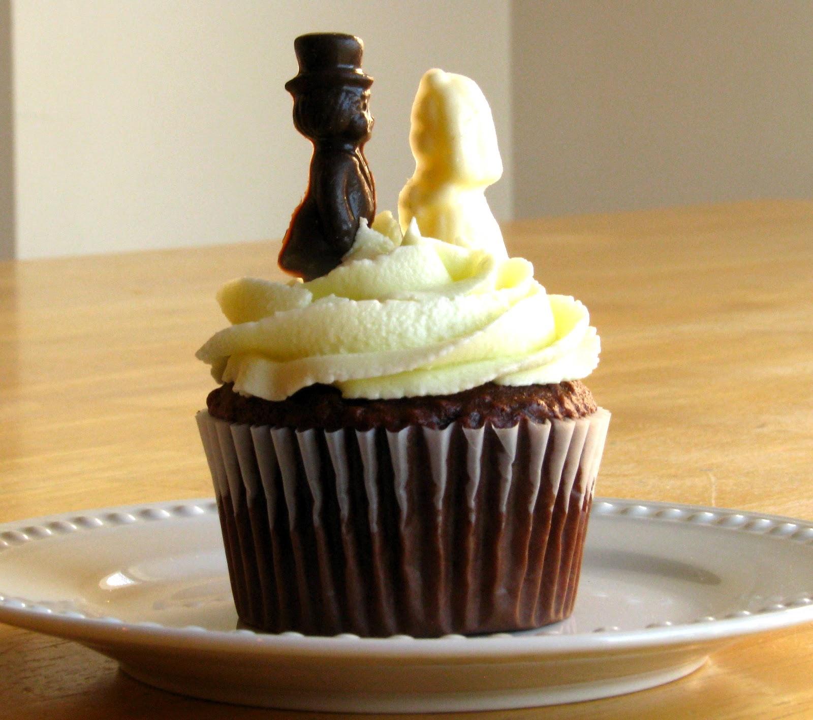 Simple Wedding Cupcake Ideas: Simple Wedding Cupcakes