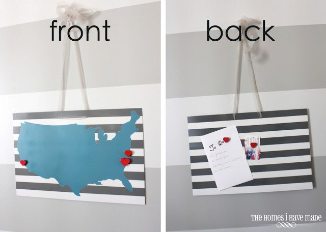 Magnetic Us Wall Art Tutorial Homes I Have Made Gluesticks