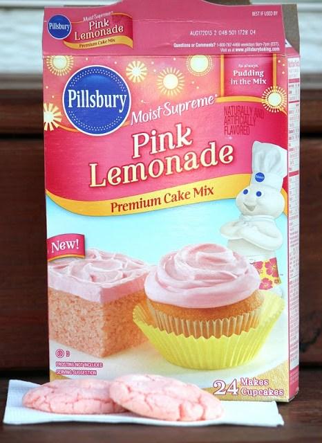Pillsbury Pink Lemonade Cookies From Cake Mix