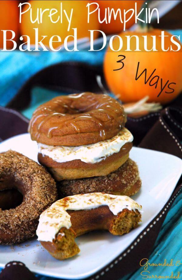 pumpkin-donuts