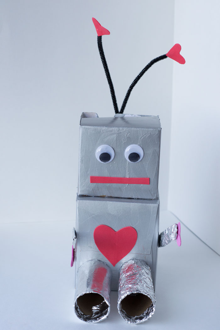 Robot Valentine Box And Fueling Creativity In Kids Glue