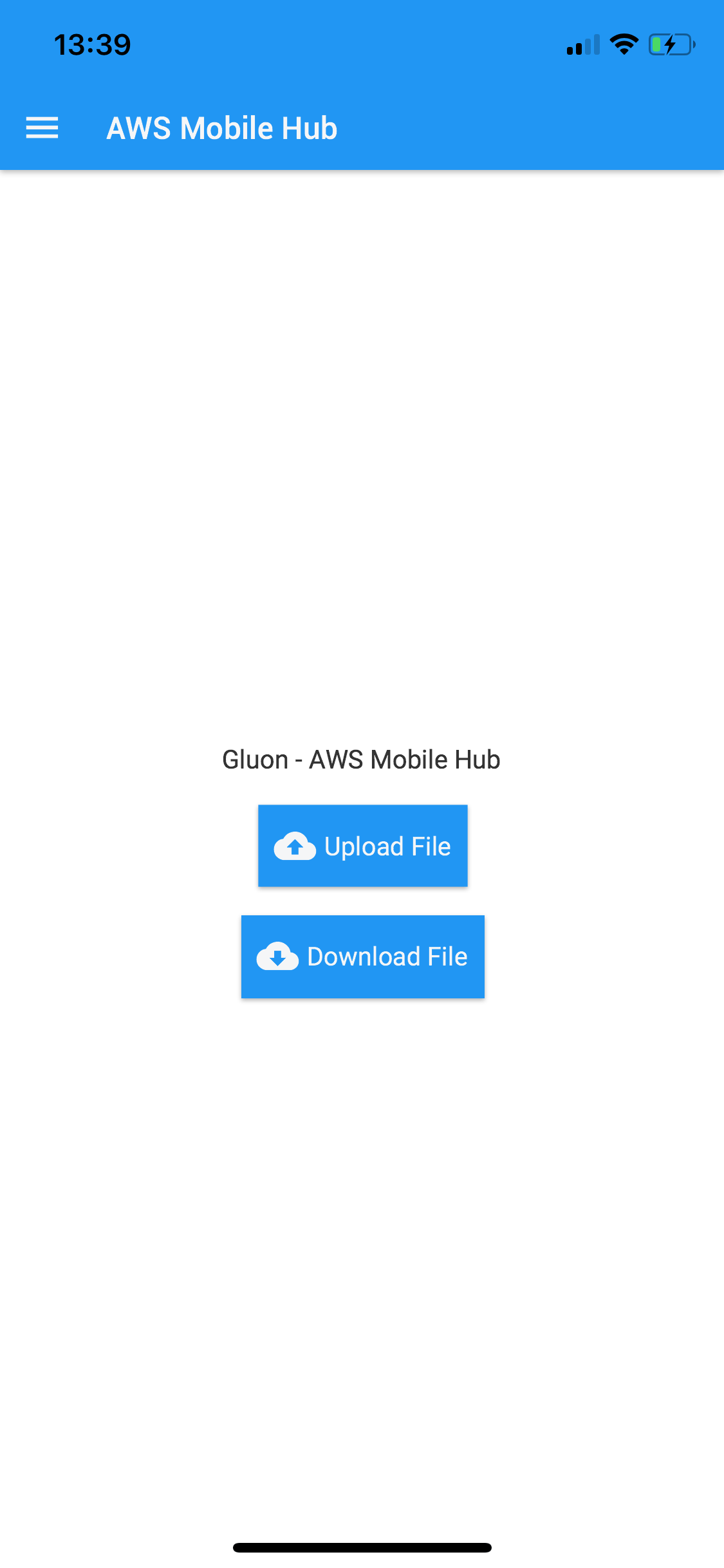Connecting Java mobile apps to AWS cloud services - Gluon