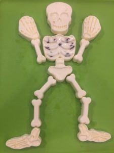 Gelatin Skeleton Bone Jellies