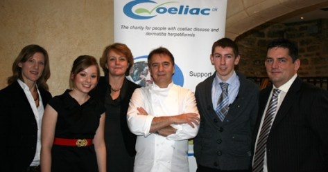 Raymond Blanc presents Gluten Free Chef of the Year award 2009
