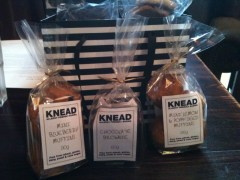 Knead Bakery's gluten free, dairy free sugar cane free goodies