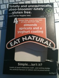 Eat Natural Gluten Free Bars