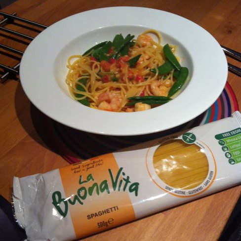 photo of our gluten free pasta dish