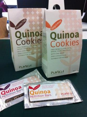 Punku Quinoa Cookies