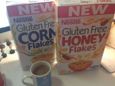 Nestlé Gluten Free Cornflakes packshot