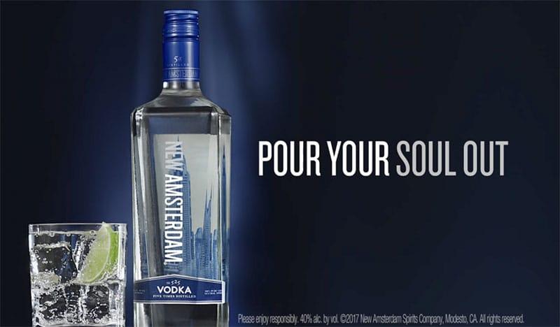 Distilled Amsterdam Vodka