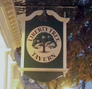 Liberty Tree Tavern Sign