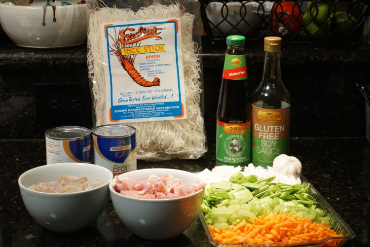pancit bihon gluten free ingredients