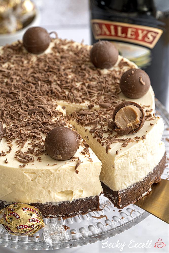 Gluten-free Baileys Cheesecake Recipe No-bake (dairy-free ...