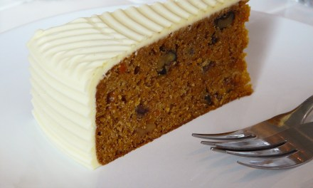 Gluten Free Carrot Cake with Orange Frosting