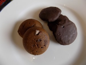 gluten free cookies, enjoy life, brownie cookie, goodie girl, mint slims