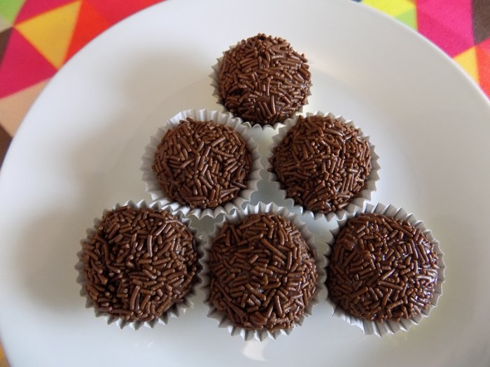 Make these delicious, gluten free brigadeiros - beloved candy from Brazil!