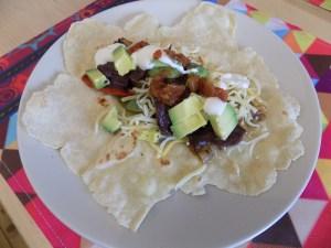Make dinner easy with my recipe for vegetable fajitas!