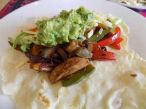 Make dinner easy with my recipe for vegetable fajitas!