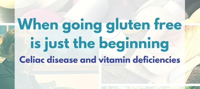 When going gluten free is just the beginning