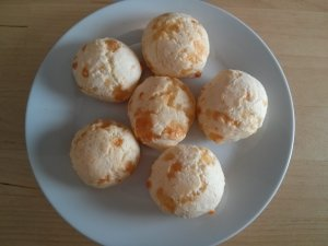 If you've dined at a Brazilian barbecue restaurant, you've probably had pão de queijo. Here's a recipe for these gluten free Brazilian cheese bread bites.