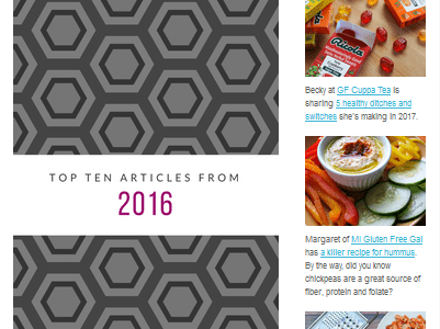 It's my blog-iversary and newsletter launch