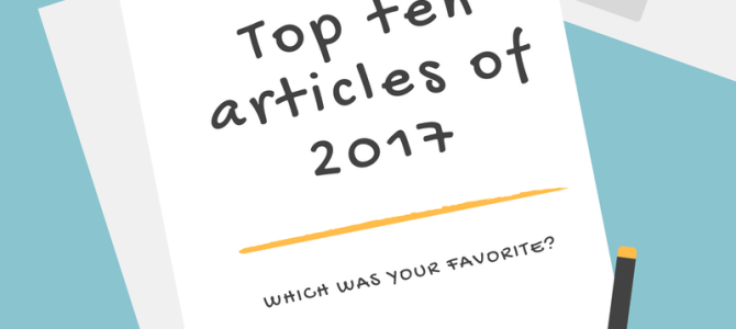 2017 in review: Top ten articles