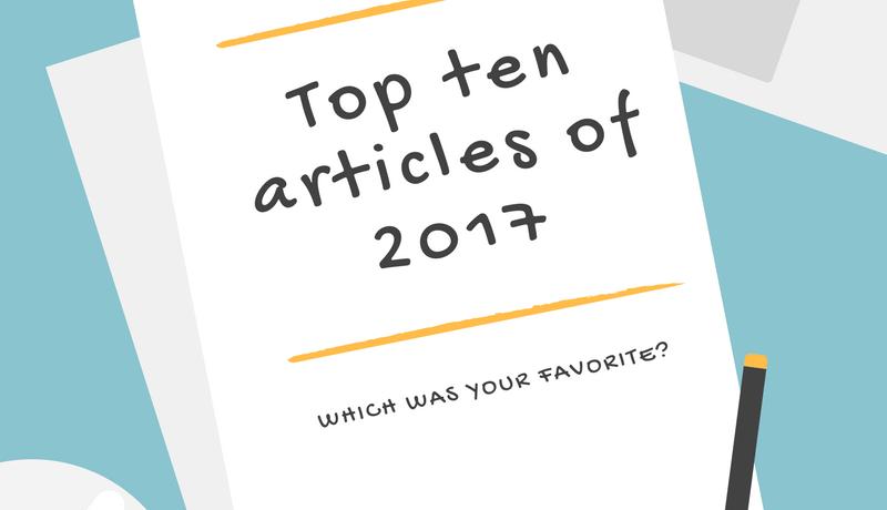 2017 in review: Top ten articles