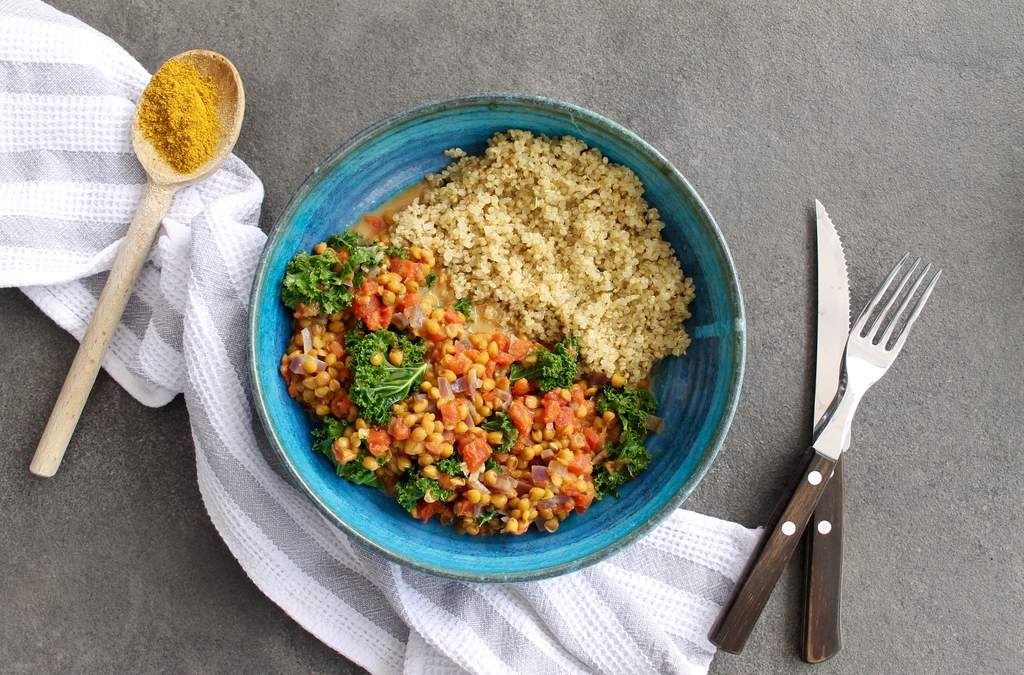 Rainbow Lentils Quinoa Gluten Free Foodie