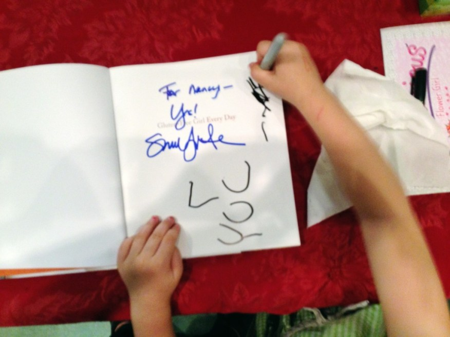 Lucy signing