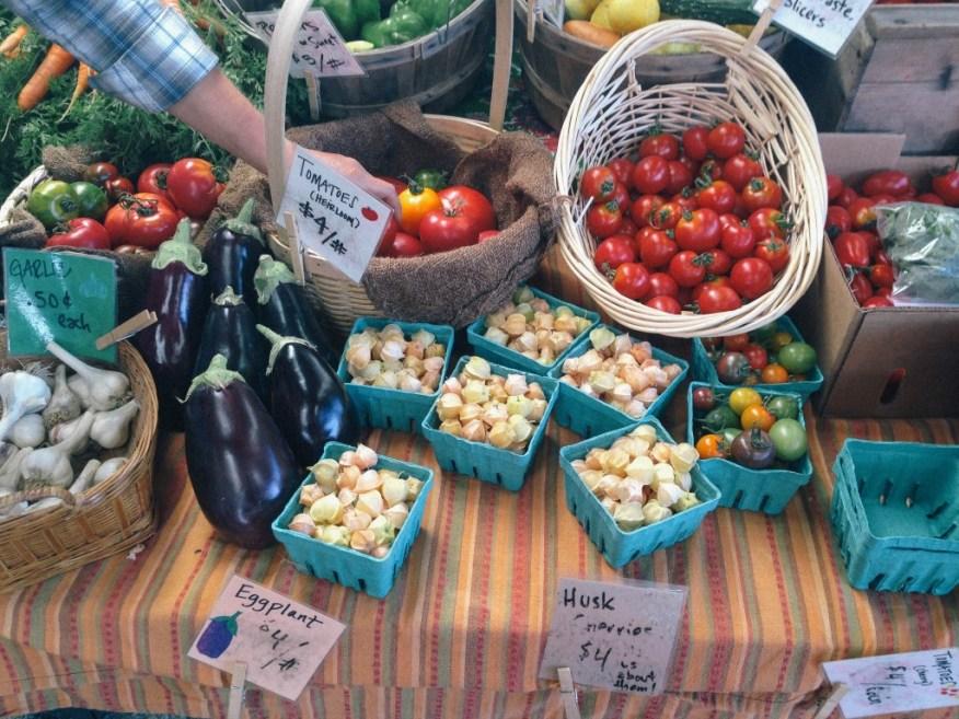 farmers' market bounty II