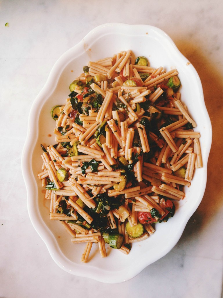 Italian pasta dish