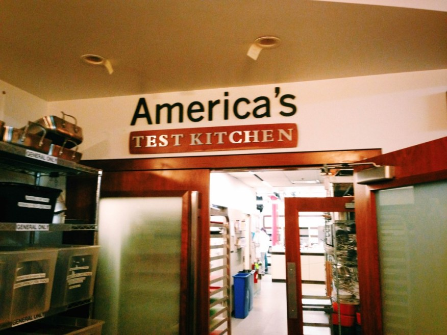 Boston- America's Test Kitchen