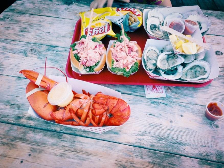 Boston- lobster lunch