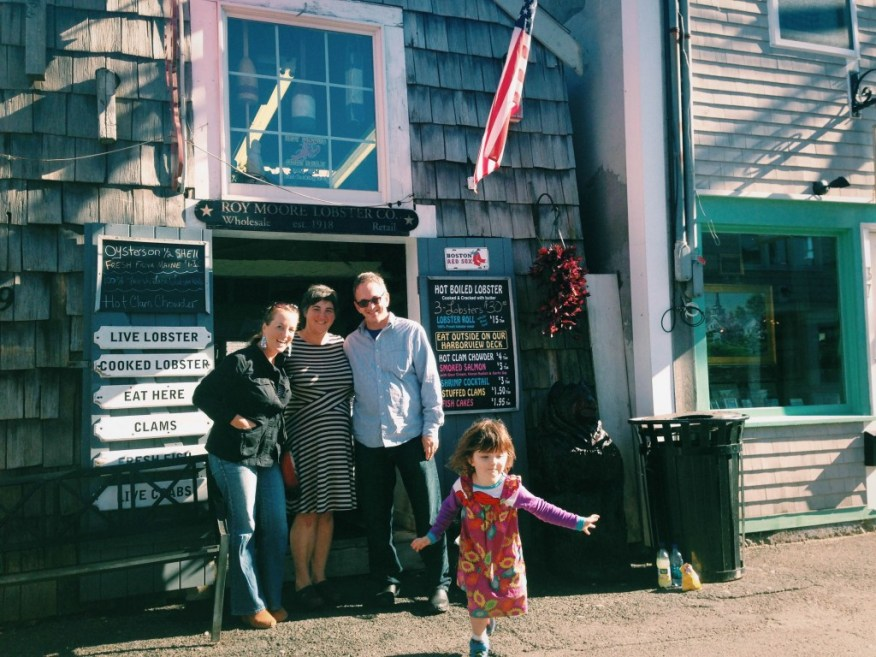 Boston- with Steph in Rockport