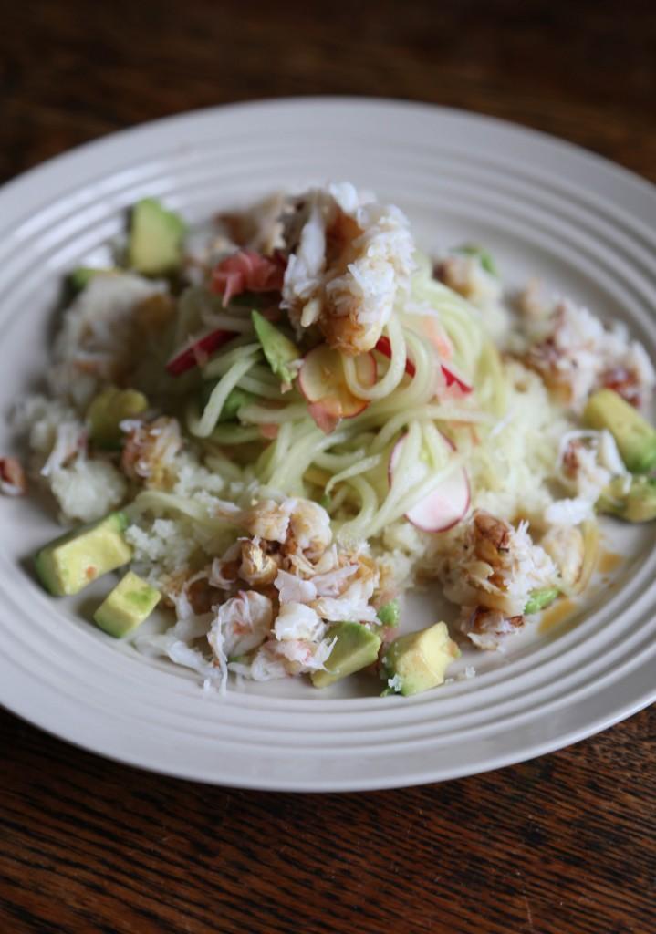 cookbook- crab sushi salad