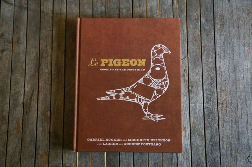 Chef books- Le Pigeon