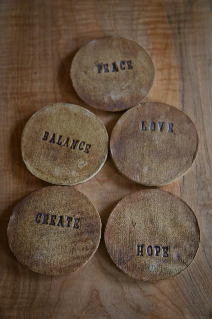 peace love balance